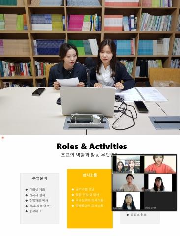 (사진1) 수업 조교 교육프로그램